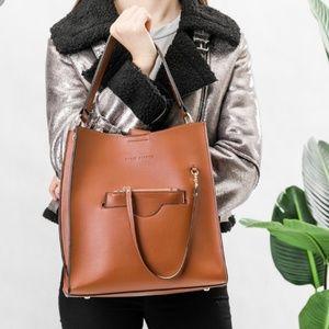 Melie Bianco Vegan Leather Alice Shoulder Bag